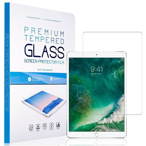 Insten Clear Tempered Glass LCD Screen Protector Film Cover For Apple iPad Pro 10.5""
