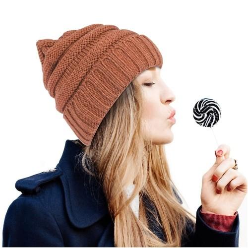 17b97900dfd Zodaca Wavy Beanie Knit Hat