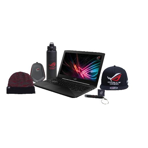 "Ensemble Laptop de Jeu ASUS ROG GL503VD-DB74 15.6"" i7-7700HQ GTX 1050 16GB RAMs"