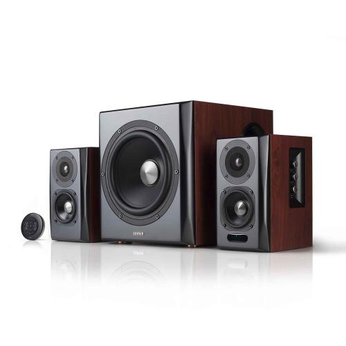Edifier S350DB Bookshelf Speaker And Subwoofer 21 System Bluetooth V41 AptX Wireless Sound For Multi Room