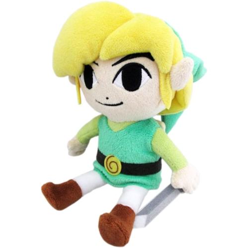 """Little Buddy Official Zelda Plush 7/"""" Link"""