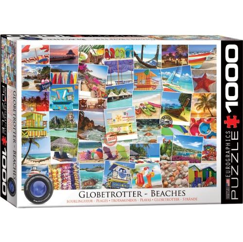 Eurographics Beaches Globetrotter Jigsaw Puzzle