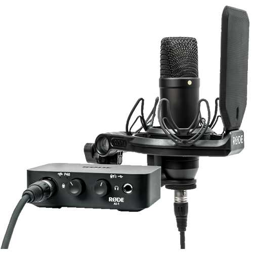 RODE NT-1   Ai-1 USB Complete Studio Kit   Recording Equipment - Best Buy  Canada 4b7d26877fd9