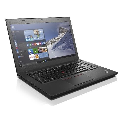 "Lenovo T460 Core i5-6300U 2.4GHz 256SSD 16GB14"" FHD TOUCH BT WIN10 CAM Backlit Key - MFG Refurbished"