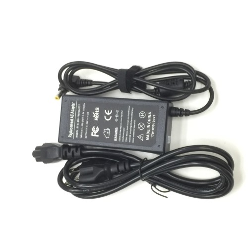 65W AC adapter charger cord for Toshiba Satellite L510-02S L510-009