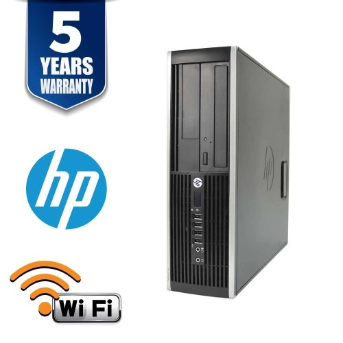 HPELITE 8300 SFF I5 3470 3.2 GHZ DDR3L 8.0 GB 512 SSD DVD WIN10 HOME USB WIFI 3YR - Refurbished
