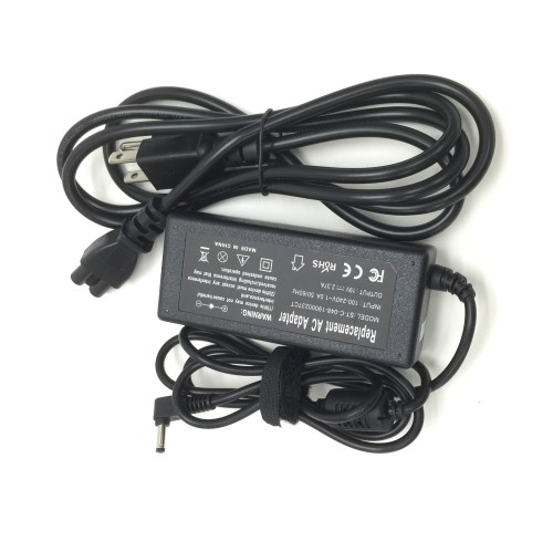 19V 45W AC adapter charger for Asus Vivobook C300 C300-MA-DB01 **Free returns for quality issue**