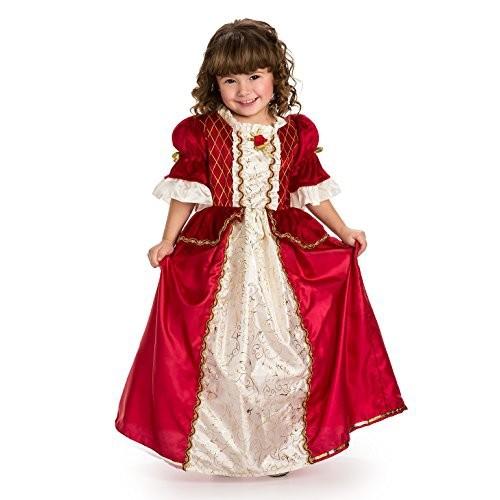 Little Adventures Deluxe Cinderella Costume: Little Adventures Traditional Winter Beauty Girls Princess