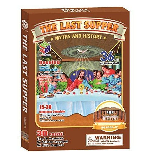 Magic Puzzle The Last Supper 36 Pieces Puzzles Best Buy Canada