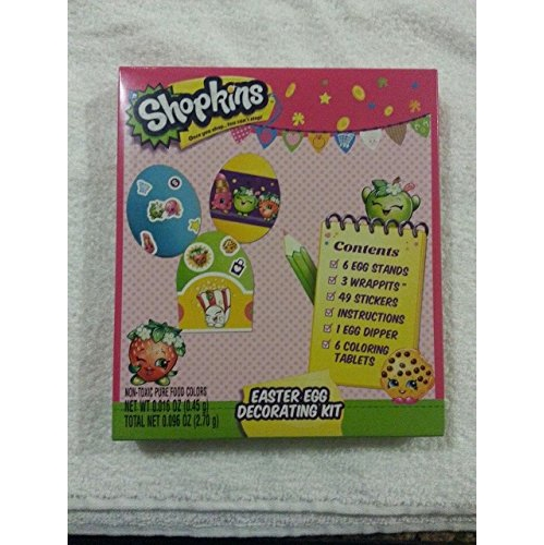 Shopkins Easter Egg Coloring Kit : Colouring Books & Scrapbooks ...