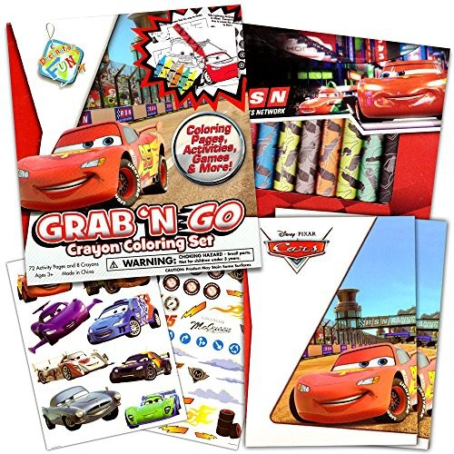 Disney/Pixar CARS Coloring Book with Stickers \