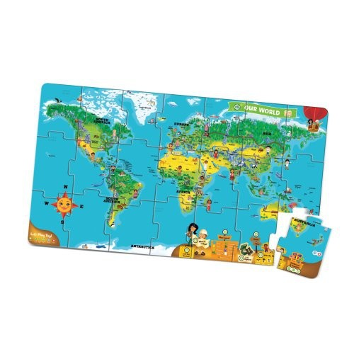 Leapfrog leapreader interactive world map puzzle works with tag leapfrog leapreader interactive world map puzzle works with tag gumiabroncs Image collections