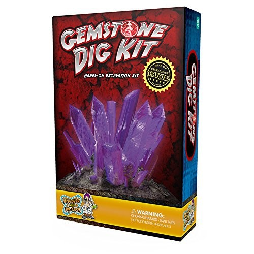 Gemstone Dig Science Kit ??? Excavate 3 Amazing Crystals