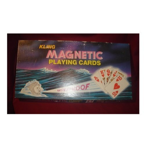 Kling Magnetic Playing Cards With Magnetic Board : Board Games ...