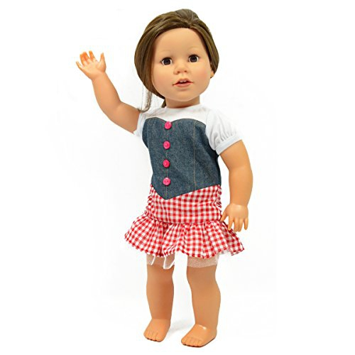 e30bfc2de Cowgirl Doll Outfit For American Girl Dolls - Cowgirl Country Girl ...