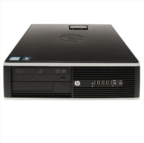 HP 6000 Desktop PC, C2D E8400 3.0G CPU, 4GB RAM, 250GB HDD, DVD, Windows 10, Refurbished