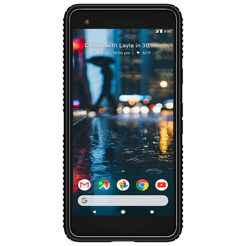 Speck Presidio Grip Fitted Hard Shell Case for Pixel 2 - Black