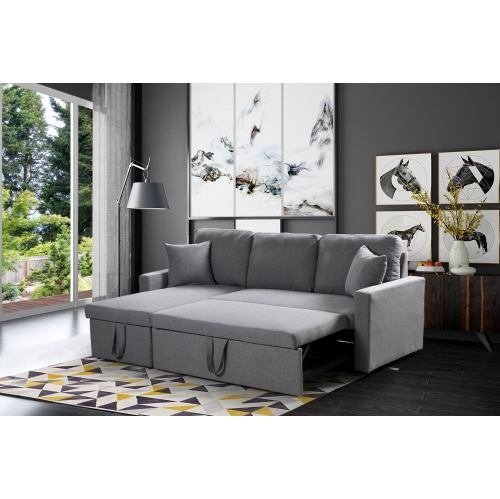 Husky Zara Reversible Sectional Sofa 3in1 Sofa Bed Storage