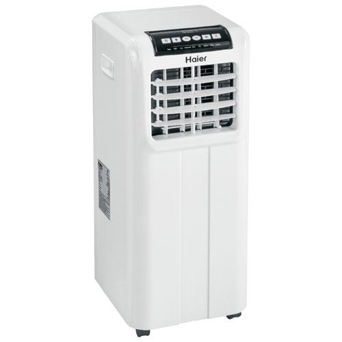 Haier Portable Air Conditioner - 8000 BTU - White   Best Buy