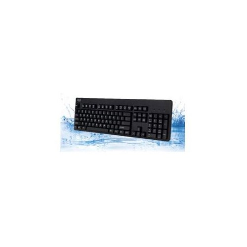 ADESSO IP67 RATED WATERPROOF ANTIMICROBIAL MULTIMEDIA USB KEYBOARD WITH 2X PRINT HIGH PROFILE KEYCAP PERFECT FOR ANY ENV