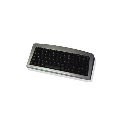 USB PS 2 Mini Slvr Blk Kybd