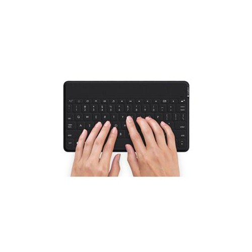 LOGITECH KEYS-TO-GO ULTRA-PORTABLE BLUETOOTH KEYBOARD FOR ANDROID AND WINDOWS, BLACK (920-007181)