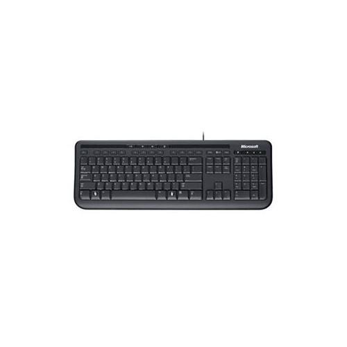 MICROSOFT WIRED KEYBOARD 600 USB PORT ENGLISH 1 LICENSE BLACK ANB-00002