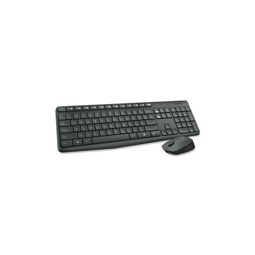 LOGITECH MK235 WIRELESS KEYBOARD AND MOUSE (GREY) 920-007897