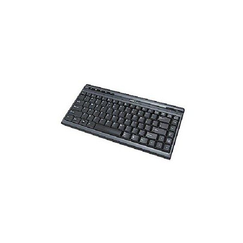 SIIG JK-US0312-S1 BLACK 86 NORMAL KEYS 5 FUNCTION KEYS USB WIRED MINI MULTIMEDIA KEYBOARD