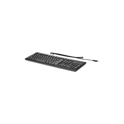 HP QY776AT#ABA BLACK USB WIRED STANDARD KEYBOARD QY776ATABA