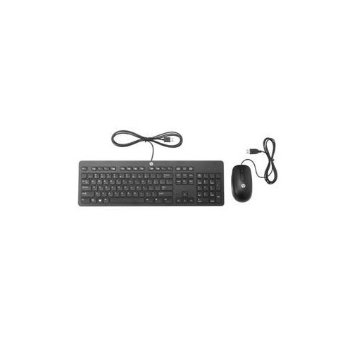 HP T6T83UT SLIM KEYBOARD AND MOUSE SET USB US SMART BUY FOR ELITEBOOK; PRO TABLET 610 G1; PROBOOK T6T83UTABA