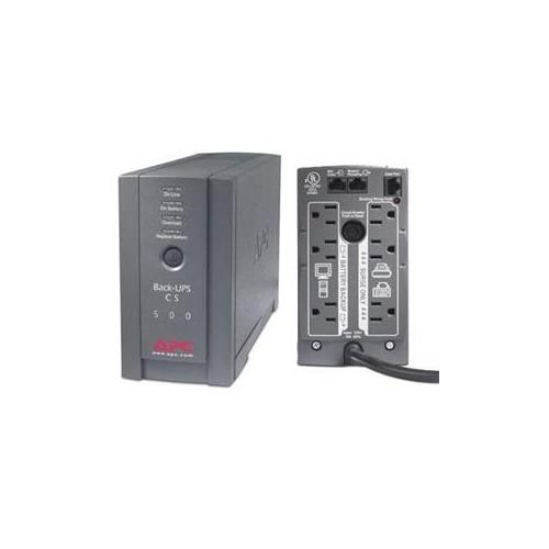 500VA 300W UPS Black
