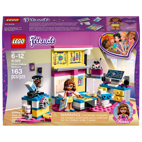 Lego Friends Olivias Deluxe Bedroom 163 Pieces 41329 Best
