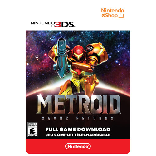 Metroid: Samus Returns - Digital Download