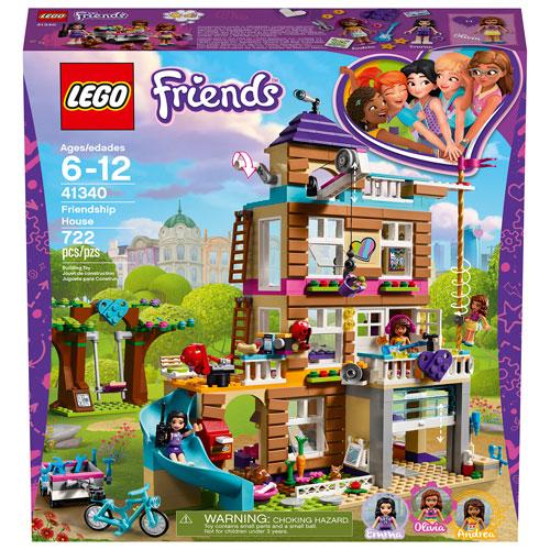 Lego Friends Friendship House 722 Pieces 41340 Best Buy Canada