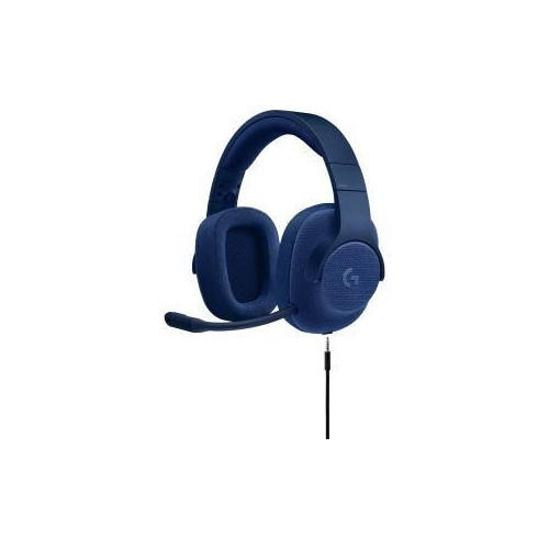LOGITECH 981-000681 G433 7.1 WIRED GAMING HEADSET WITH DTS HEADPHONE: X 7.1 SURROUND FOR PC, PS4, PS4 PRO, XBOX ONE, XBO