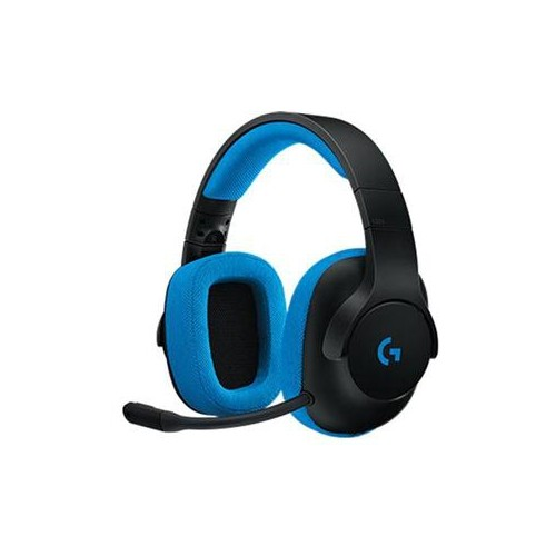 LOGITECH CANADA Over-Ear G233 7.1 Wired Gaming Headset (981-000701) - Blue
