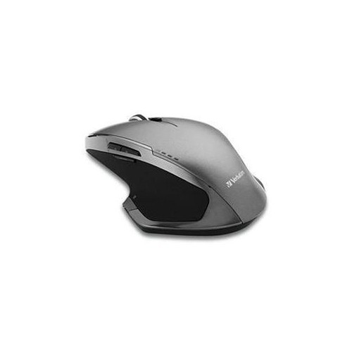 VERBATIM WIRELESS DESKTOP 8-BUTTON DELUXE BLUE LED MOUSE, GRAPHITE 98622