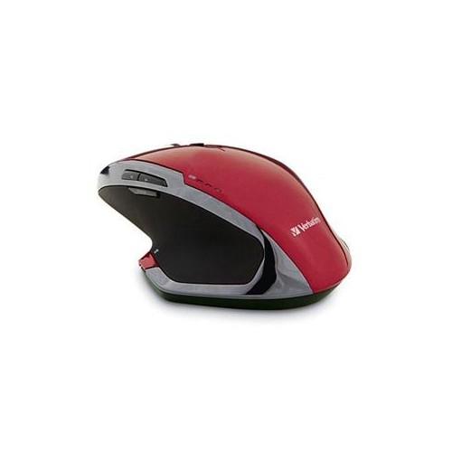 Wrlss Dktp 8 Bttn Mouse Red