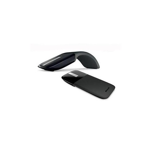 MICROSOFT PL2 ARC TOUCH MOUSE RVF-00053 BLACK TOUCH SCROLL USB RF WIRELESS BLUETRACK 1000 DPI MOUSE