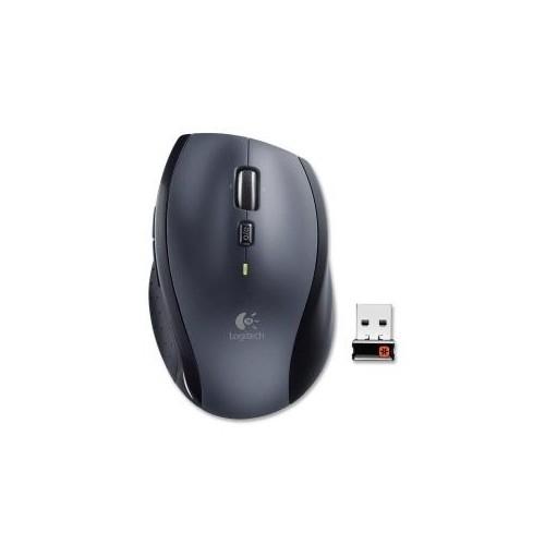 LOGITECH M705 BLACK 1 X WHEEL USB RF WIRELESS LASER MARATHON MOUSE 910-001935