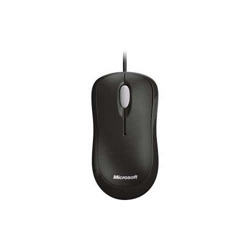 MICROSOFT BASIC OPTICAL MOUSE FOR BUSINESS PS2/USB ENGLISH BRAZILIAN FRENCH SPANISH 1 LICENSE FOR BUSINESS BLACK 4YH-000