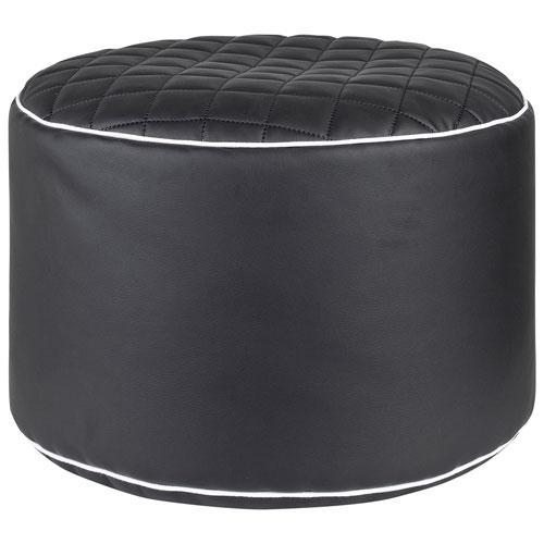 Dotcom Modo Tap Contemporary Pouf Black Poufs Best Buy Canada Fascinating Cheap Poufs Online