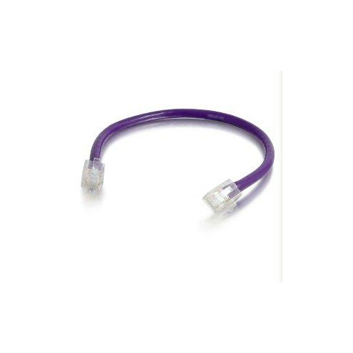 30ft Cat5e Non-Booted Unshielded (UTP) Network Patch Cable - Purple