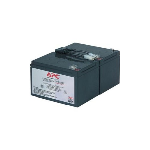 APC BY SCHNEIDER ELECTRIC RPLC BATT CART 2 BATTRIES-BP1000 SUVS1000 SU1000 RBC6