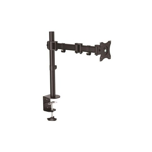 "STARTECH ARMPIVOTB ARTICULATING MONITOR ARM STEEL SINGLE MONITOR STAND MONITORS UP TO 27"" VESA MOUNT ADJUSTABLE MONITOR"