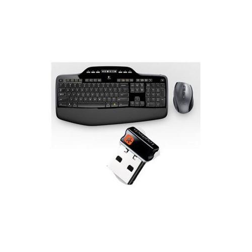 LOGITECH MK710 BLACK 7 FUNCTION KEYS USB RF WIRELESS ERGONOMIC WIRELESS DESKTOP (FRENCH CDN LAYOUT) 920-002418