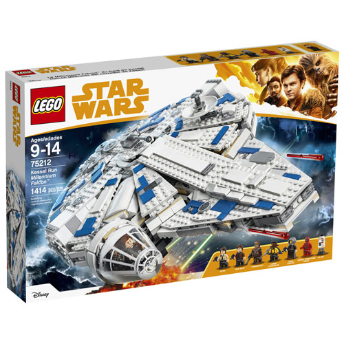 LEGO Star Wars: Kessel Run Millennium Falcon - 1414 Pieces