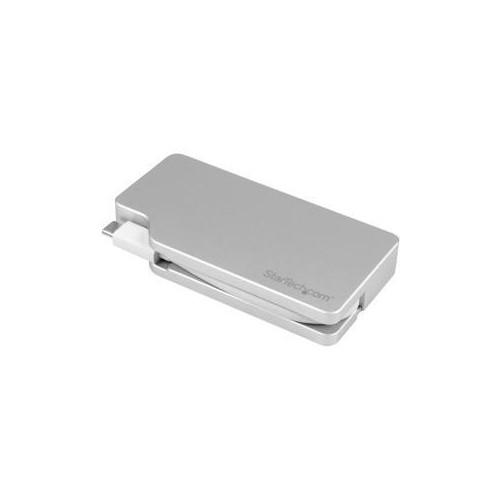 STARTECH.COM CDPVGDVHDMDP USB-C MULTIPORT ADAPTER ALUMINUM USB TYPE C TO VGA / 4K HDMI / MINI DISPLAYPORT / DVI USB C AD