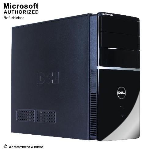 Dell Vostro 220 TW, INTEL C2D 2.8, 4GB RAM , 250GB HDD, DVD, WIFI, WINDOWS 10 -Refurbished